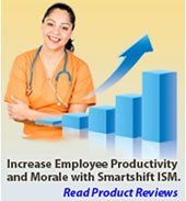 increased employee morale and productivity